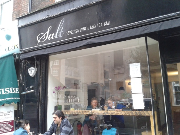 Shopfront for Salt in Covent Garden