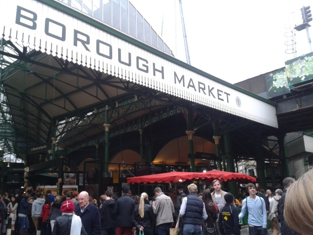 Borough Market near London Bridge