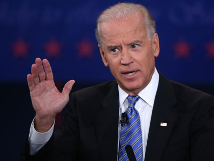 Joe Biden in the debate
