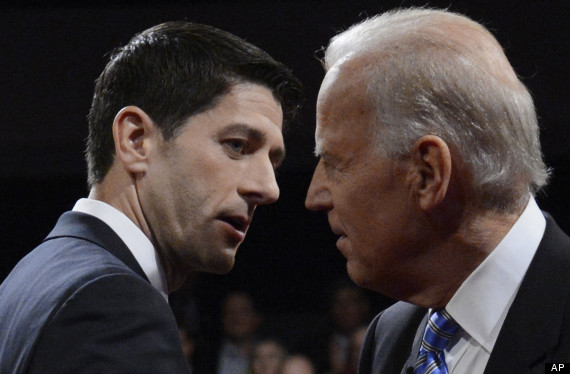 Biden and Ryan squaring up