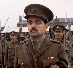 Blackadder #Movember