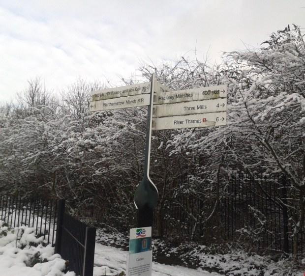 Snowy Hackney Park