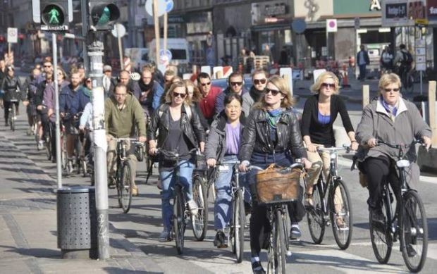 Rush Hour, Copenhagen (Taken from the Winnipeg Free Press Website)