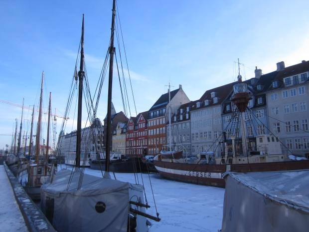 Nyhavn Port Harbour Copenhagen