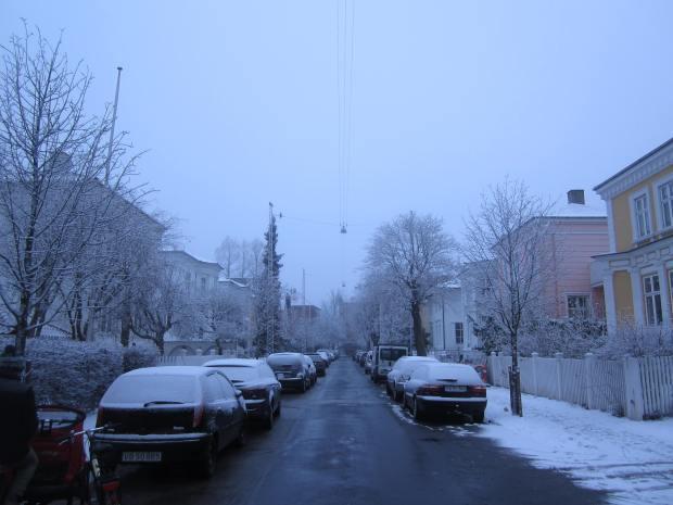 Suburban Snow Copenhagen