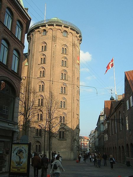 The Rundetarn (Round Tower) in Copenhagen