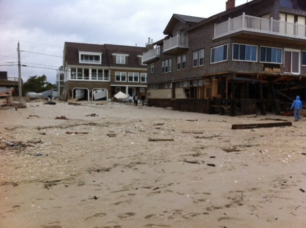 Normandy Beach Superstorm Sandy