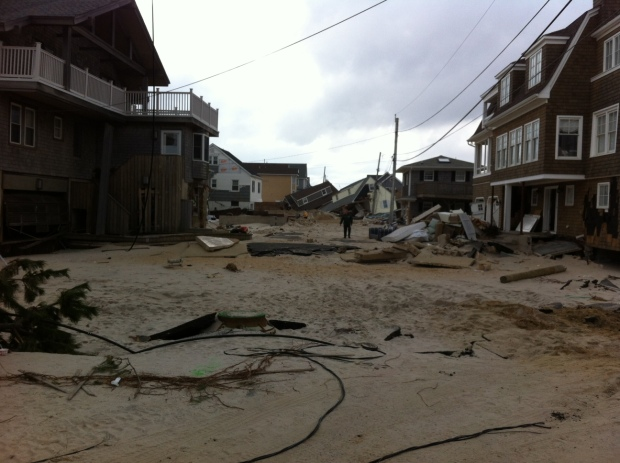 Normandy Beach after Sandy