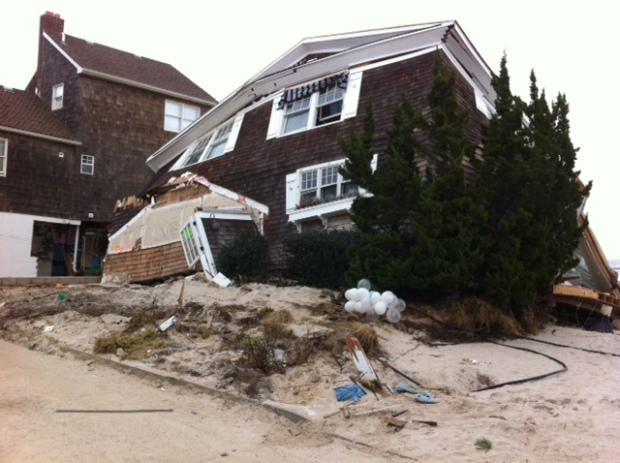 Hurricane Damage Sandy