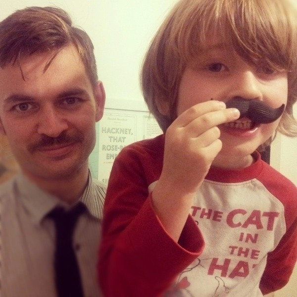 Movember 2012, Me and My Boy