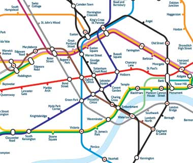 Mark Noad Tube Map