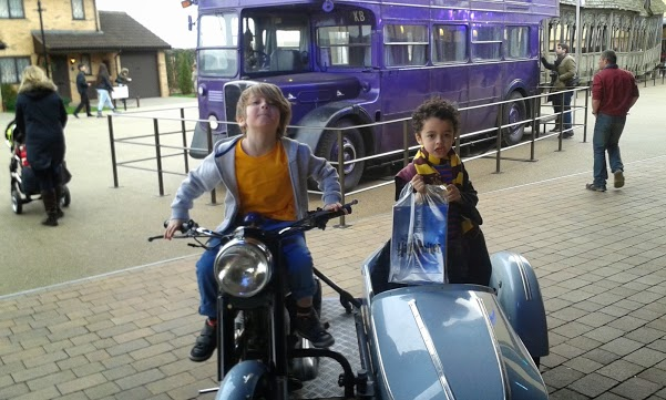 Sirius Black's motorbike