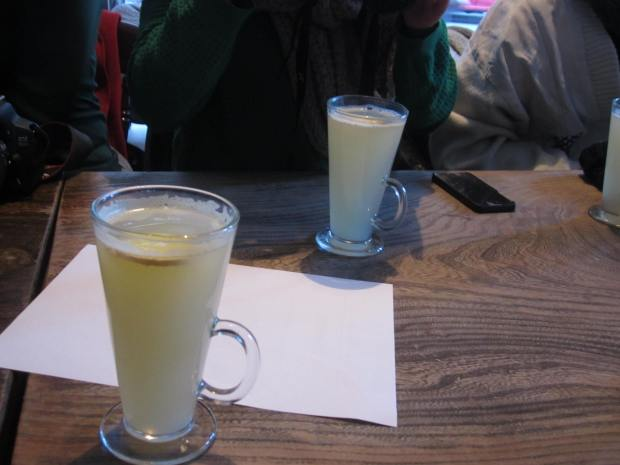 Hot Ginger Beer from The Kaff Bar