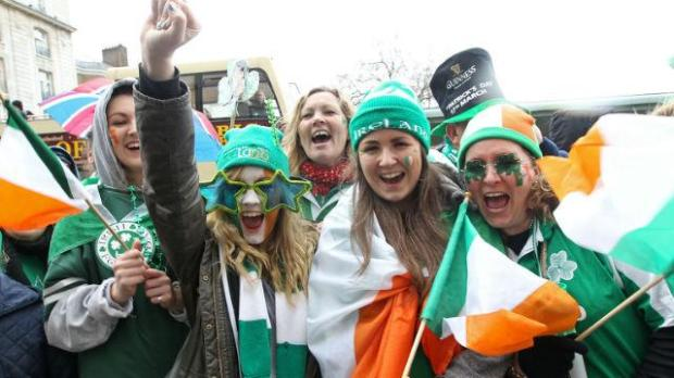 Irish St Patrick's Day London
