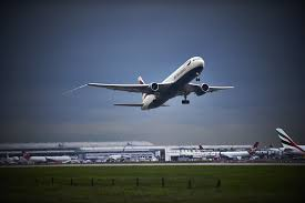 plane heathrow